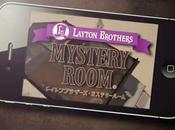 Professeur Layton bientôt disponible l'App Store version iPhone iPad