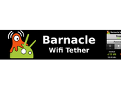 Barnacle Wifi Tether Utiliser mobile Android comme routeur