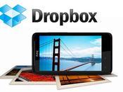annonce d'espace stockage Dropbox pour tous Android Phones