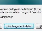 Firmware 1.1.4 pour iPhone… sans