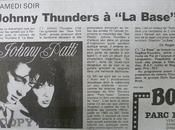 février 1989. Johnny Thunders Perpignan