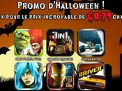 [Bons Plans]6 jeux Gameloft pour iPhone Promo 0,79€ Halloween