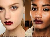 Tendance Maquillage Automne Hiver 2011-2012: bouche burgundy