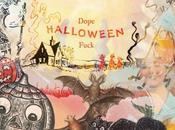 Dope Halloween Fuck Crash Symbols