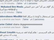 Tunisiens envahissent page Facebook d'Obama