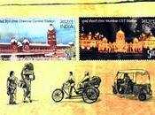 Timbres gares indiennes