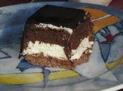 Entremets crousti'fondant chocolat noir blanc