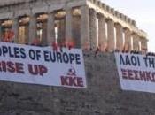 Mikis Thedorakis Manolis Glezos appellent peuples d'Europe soulever contre marchés financiers