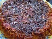 Tarte tatin saumon,tomates caramel vinaigre balsamique