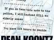 """""""Velocity"""" choix vous appartient"""", Dean Koontz"""