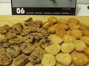 Biscuits: Shortbread Miel, Chocolat Meringues