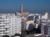 notre chambre d'hôtel Casablanca, nous voyions