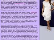 Ashley Greene sponsor Donate Dress.org