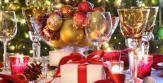 décoration table écologique pour réveillon Noël