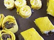 Petites omelettes roulées mille-feuilles