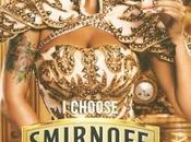 Amber Rose, nouvelle égérie vodka SMIRNOFF