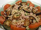 Salade thon l'aubergine