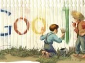 Google aujourd'hui fête naissance Mark Twain.