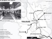 Métro Toulousain prolongé jusqu'à Labège