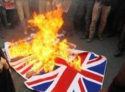 Nouvelle manifestation anti-britannique Téhéran