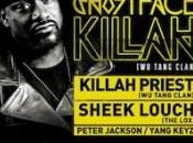 Ghostface Killah Priest (Wu-Tang Clan) Sheek Louch (The Lox) décembre 2011 Cercle