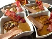 Velouté marrons potiron, cèpes foie gras