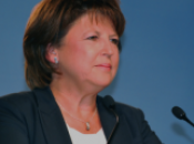 Martine Aubry Tout avec Hollande