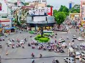Traffic Frenetic HCMC, Vietnam