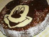 Gâteau Mickey Mousse Moelleux chocolat (décoré avec métode chane)