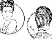 Petite leçon coiffure 1916 chignon caché