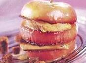 Foie gras pommes