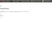 Migrer vers WordPress Beaucoups mise jours