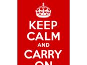 """Trois citations livre """"Keep calm Carry"""
