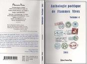 "Anthologie poétique ""Flammes Vives"" Volume"