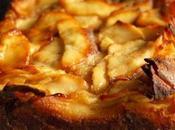 """Gâteau """"invisible"""" pommes sans gluten lactose"""