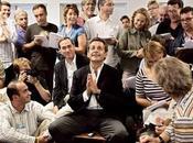 Looking Nicolas Sarkozy président journalistes étrangers