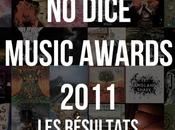 Dice Music Award 2011, résultats.