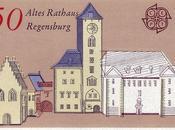 Ratisbonne Regensburg dans timbres-poste allemands