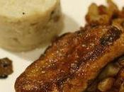 Foie gras poêlé Topinambours