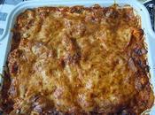 Lasagne maison poireaux,protéines soja saumon