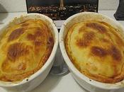 Plat: Tourte Boeuf, Aubergine Mozzarella