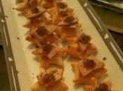 Bouchées foie gras confit d'oignons