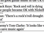 Apparemment rock meurt, envoyez docteur. vous...