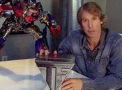 Michael fait promo Transformers