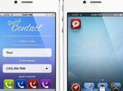 Quick Contact: Créer icônes raccourcis depuis votre iPhone...