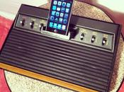 dock iPhone partir d'une Atari 2600