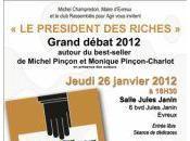 président riches débat Evreux jeudi janvier.