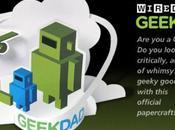 Papertoy 'GeekDad' Desktop Gremlins