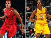 WNBA échange, transfert deux prolongations