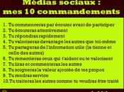 Médias sociaux commandements